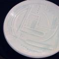 大皿(青白磁):天田 毅 :062012(送料無料)