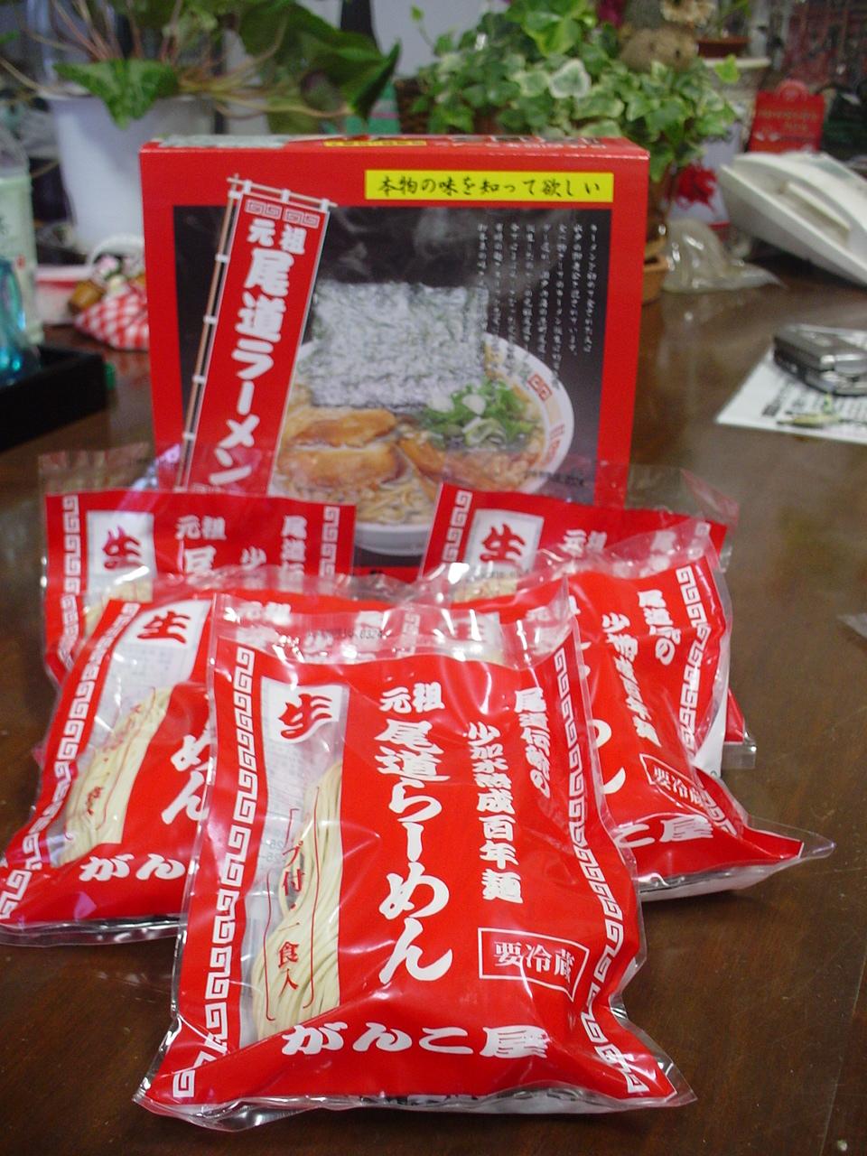 がんこ尾道ラーメン5食セット【尾海苔10枚付・ギフト赤箱】