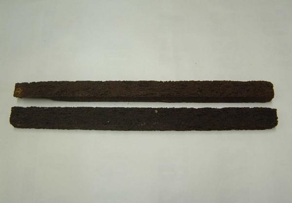 ヘゴ棒 太 45cm x 3cm x 4cm 2本セット 洋蘭 観葉植物
