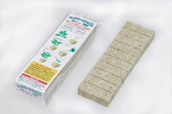 ロックウール ブロック 30mm 60P 種まき さし木 さし苗 さし芽