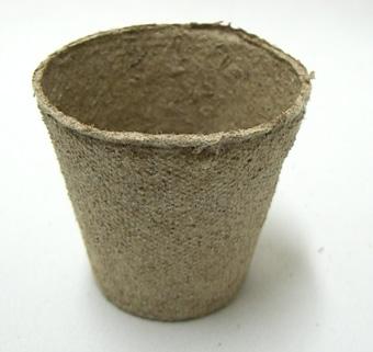 ジフィーポット 6cm 10個セット 穴なし 種まき 挿し芽 Jiffy
