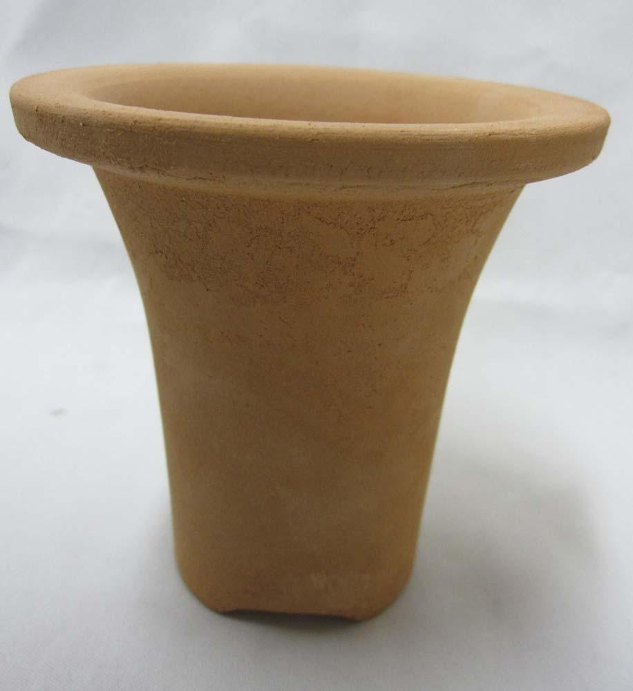 ロクロ成型 ラッパ鉢 3.5号 富貴蘭 10枚セット