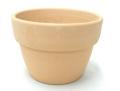 素焼き鉢 3.0号 α型 アルファ 中深 10枚セット 洋蘭 富貴蘭