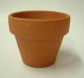 小品盆栽 仕立鉢 ドイツ製 6cm 100枚 2号 硬質素焼き鉢