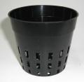 穴鉢 7.5cm 黒 600個 硬質ポリポット