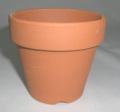 小品盆栽 仕立鉢 シオン鉢 3.0号 深 1枚 硬質素焼き鉢