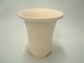 速乾 ラッパ鉢 3.0号 富貴蘭 大底穴 素焼鉢 1枚