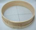 木製 フルイ 網目7.5mm 万能フルイ 35cm 園芸用