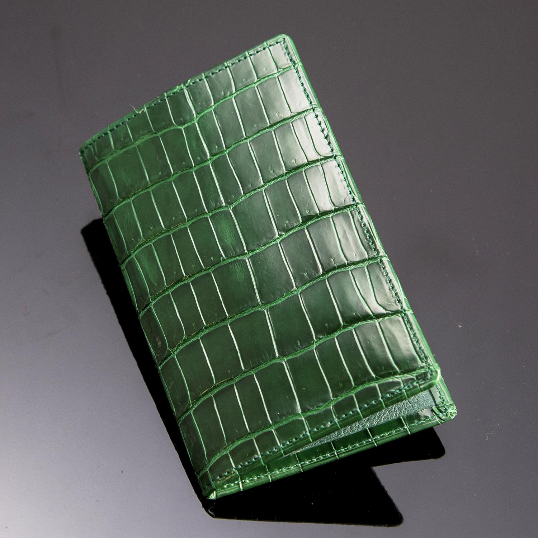 クロコダイル8枚カードケース[TM1708]