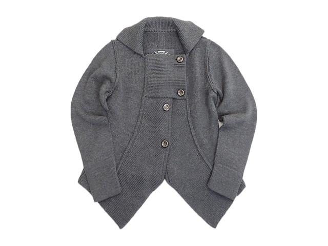 【ジルボーレディース】Sサイズ秋から着て下さい☆オシャレ感抜群のニットジャケ♪50%OFF