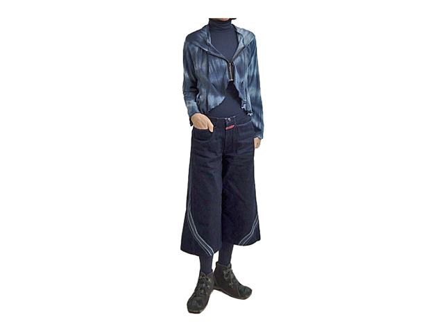【FADselect】レディース◇M~Lサイズ☆ゆるくてこの丈がたまらないジップパーカー☆彡30%OFF