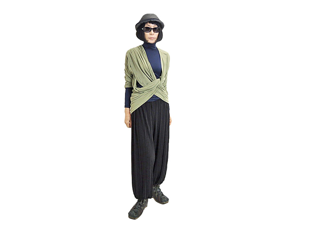 【FADselect】レディース&メンズ◇クールでオシャレなプリーツジョガーパンツ☆これは綺麗で楽ですね☆彡30%OFF