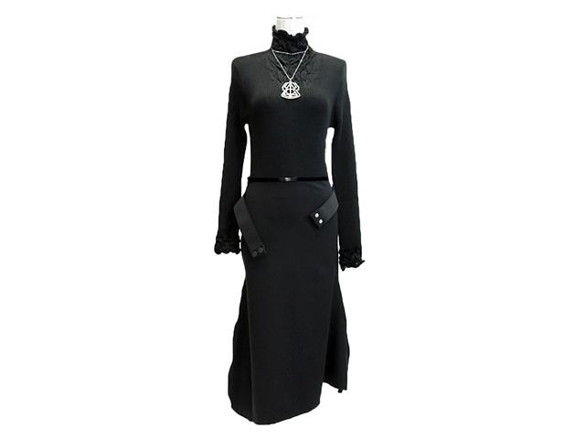 【HIGHレディス】42サイズ Mサイズ感覚 アシンメトリースカート♪60%OFF再値下げ
