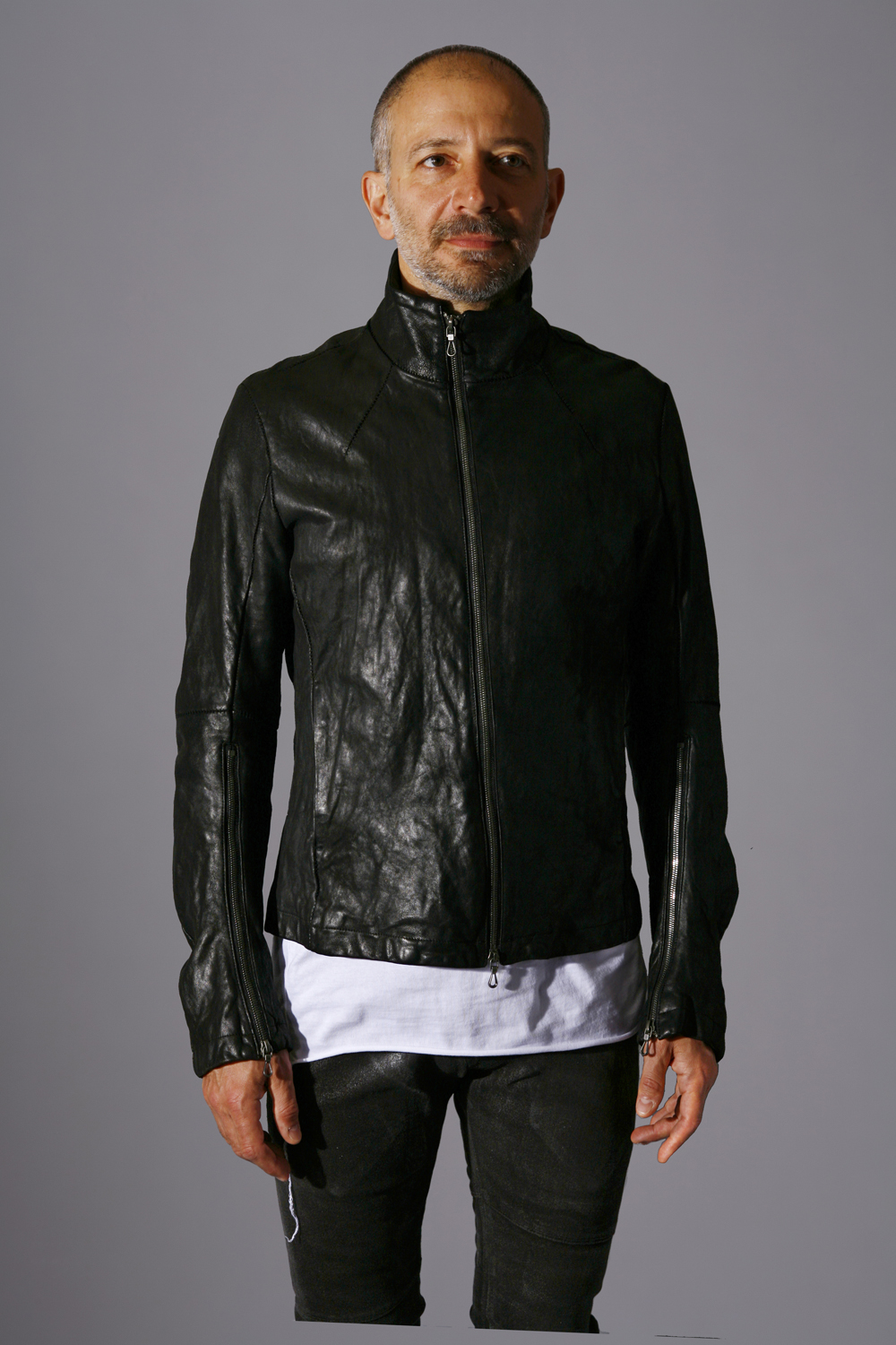 Lamb Leather Blouson