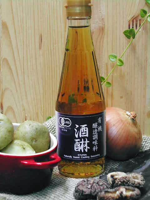 日本伝統の技・みりんの風味を極めた【酒醂(有機醸造調味料)】
