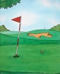 オリジナル絵本【ゴルフの本】