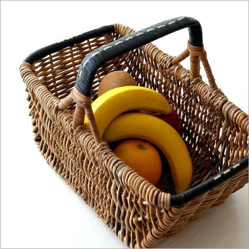 アラログハンドルバスケット