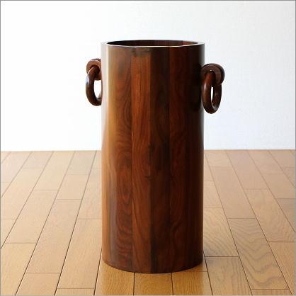 傘立て 木製 おしゃれ デザイン 玄関 インテリア シーシャムウッドの傘たてB【送料無料】