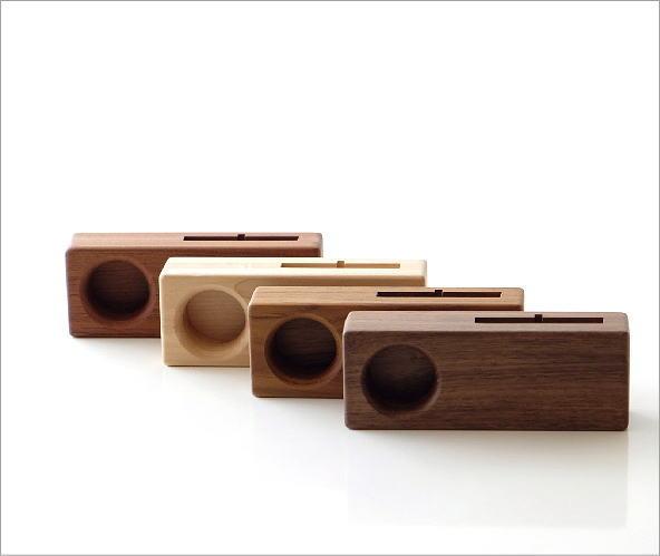 Woodスマホスピーカー シングル4タイプ(6)