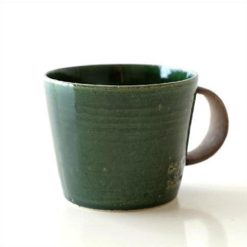 陶器 デカマグ グリーン