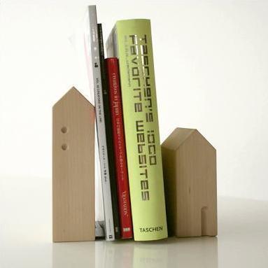 本立て 木製 ウォールナット シンプル おしゃれ 天然木 無垢 ナチュラルウッドのブックエンドA