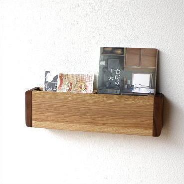 レターラック 木製 壁掛け 収納 ウォールシェルフ 状差し おしゃれ 手紙入れ 壁掛けレターラック