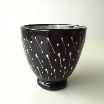 陶器 和食器 フリーカップ 和陶器湯のみ 点線一珍