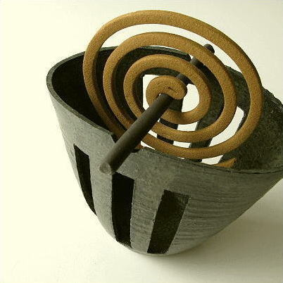 和陶器蚊遣り 九