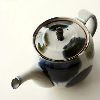 急須 ティーポット 和風 有田焼 陶器 日本製 おしゃれ 丸流しポット
