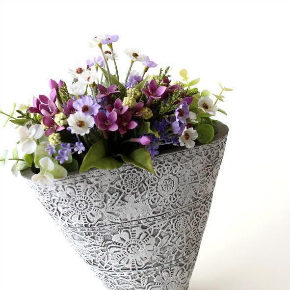 花器 フラワーベース おしゃれ 花瓶 陶器のベース ドルチェスモール