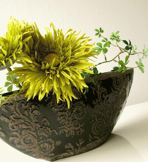 陶器花瓶 クラシックベースB