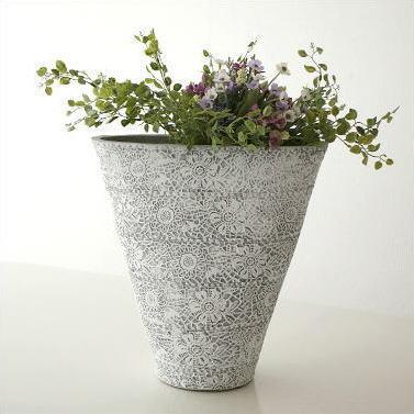 花瓶 陶器 おしゃれ 花器 フラワーベース 陶器のベース ドルチェ