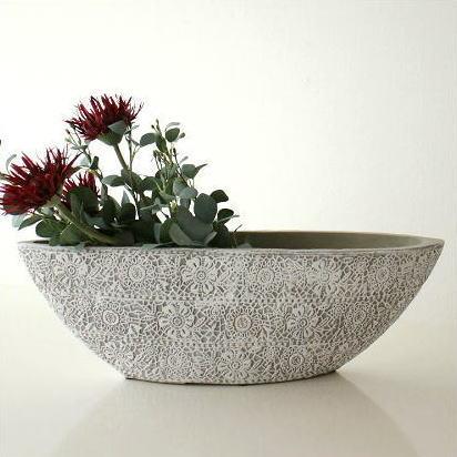 花瓶 陶器 おしゃれ 花器 フラワーベース 陶器のベース ドルチェB