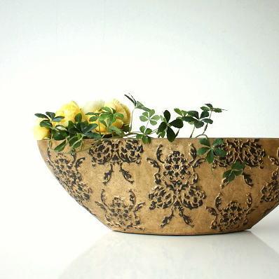 花瓶 陶器 おしゃれ 花器 フラワーベース クラシックベース D