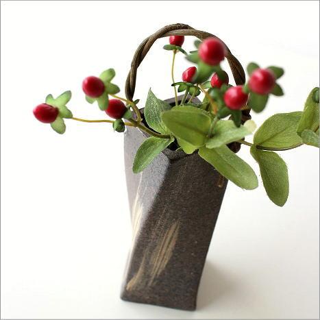 花瓶 花器 おしゃれ 和風 フラワーベース 和陶器ベース ツイスト