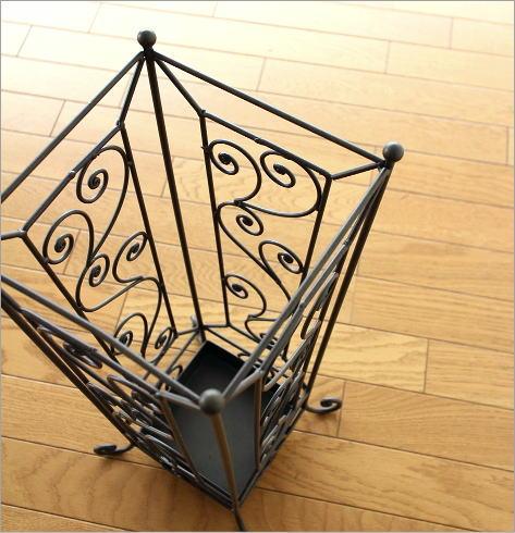 傘たて おしゃれ アンティーク クラシック デザイン コンパクト アイアン傘立て E