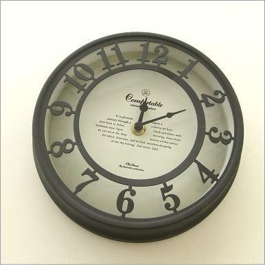 掛け時計 レトロ モダン アンティーク 壁掛け時計 ストリートクロック B