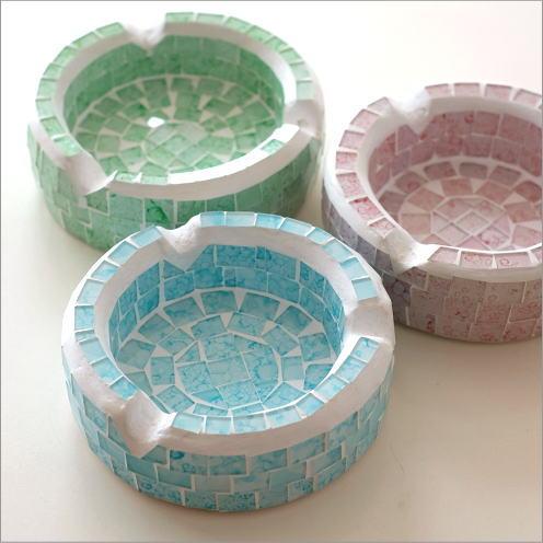 モザイク灰皿パステル 3カラー