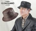 <G・ガリアーノ>柔らかラム革帽子
