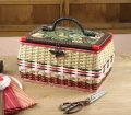昭和の手づくり裁縫箱
