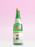 還暦祝いのプレゼントに花束ラッピング名入れラベル酒・酒蔵直送 純米酒 720ml