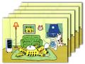 【ポストカードNo.066】「ラッキーの部屋」×5枚セット