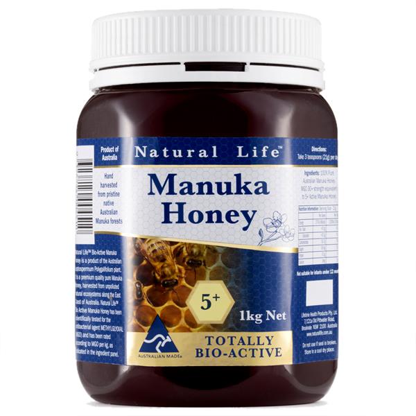 ナチュラルライフマヌカハニー5+1kg