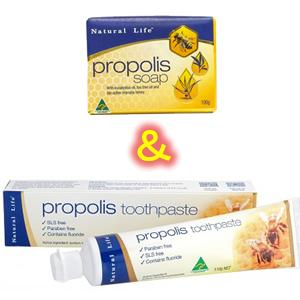 プロポリス石鹸&プロポリス歯磨き粉