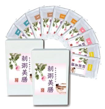 朝粥10セット(5種×各2)