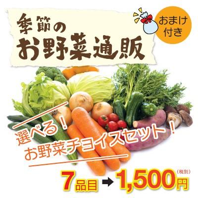 お野菜チョイスセット