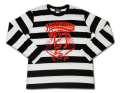 """GRC-260長袖ボーダーTシャツ""""HELL GREASERS"""""""