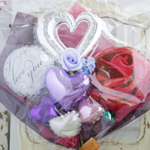 バルーンブーケ♪誕生日プレゼントにバラのバルーン
