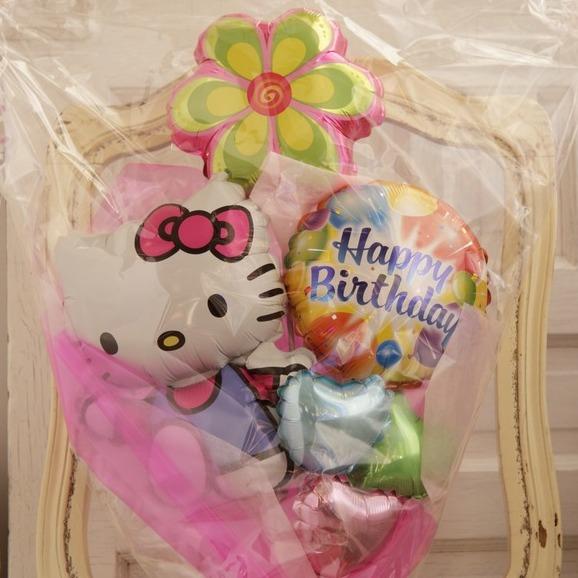 バルーンブーケ♪子供の発表会お誕生日はハローキティブーケで決まり♪