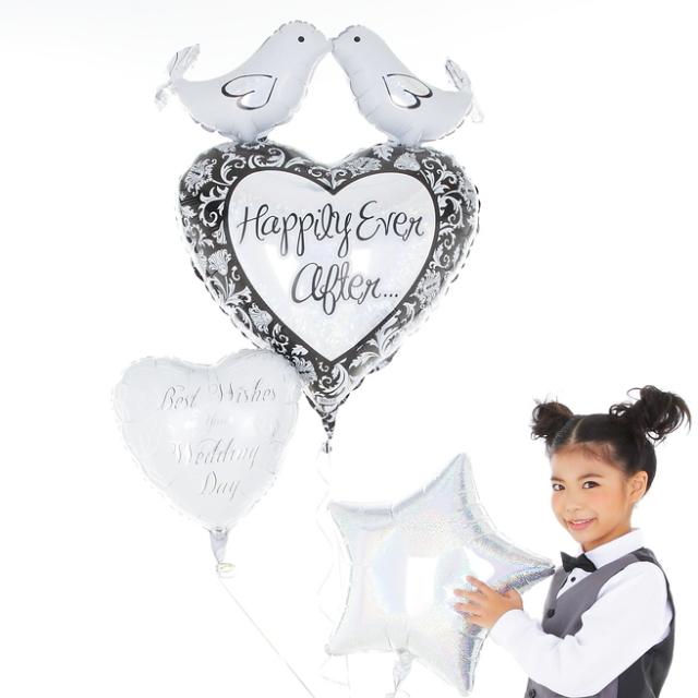 バルーン電報ギフト結婚式に最適なTrue Loveバルーン